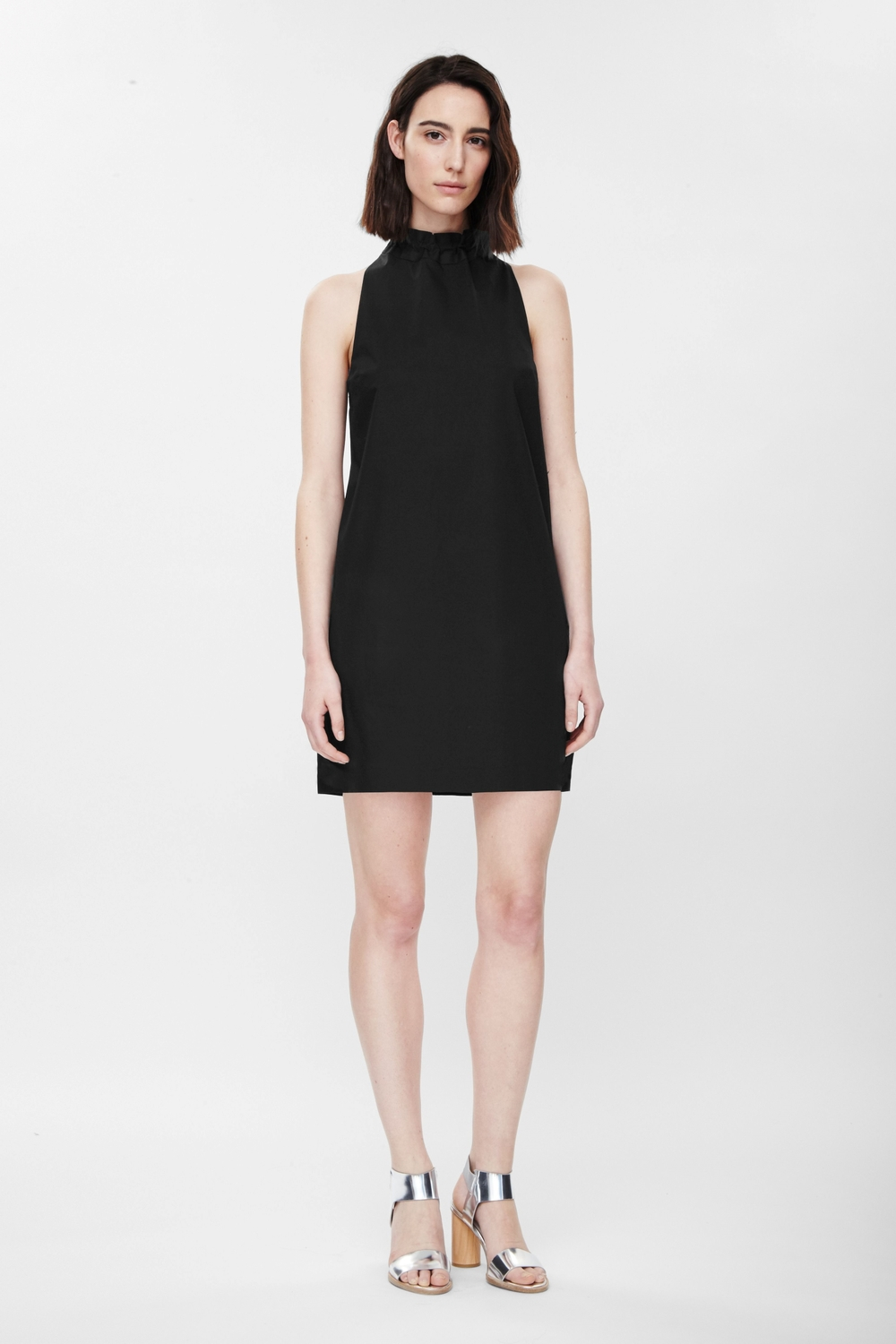 Dress with Tie Collar by Cos