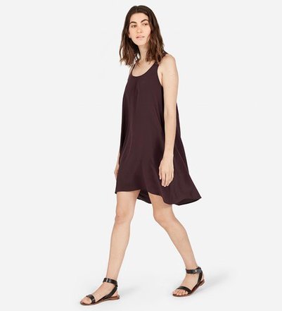 Silk Tank Dress from Everlane
