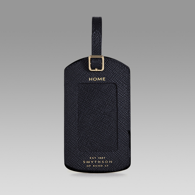 smythson luggage tag