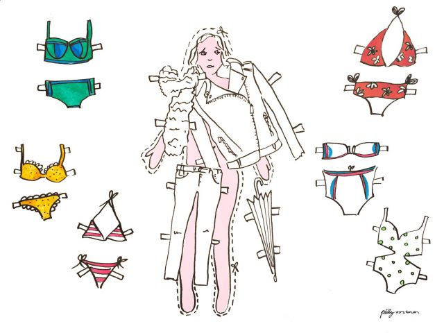 Illustration by brilliant  Polly Crossman
