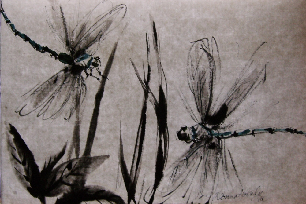 Dragonflies - © Donna Lovely