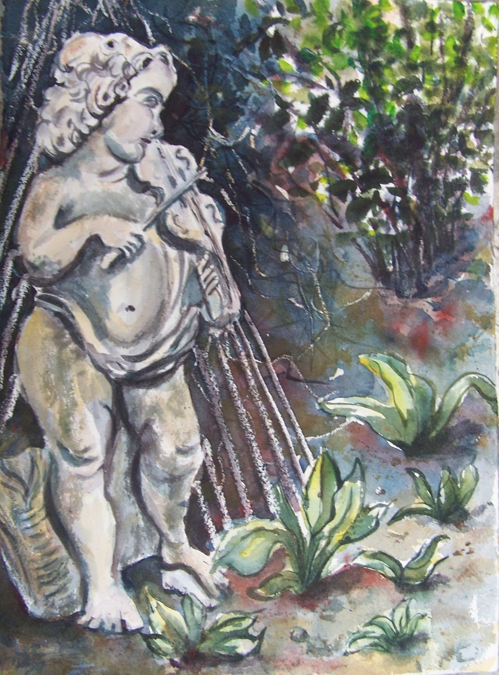 Garden Statue No. 2 - © Donna Lovely