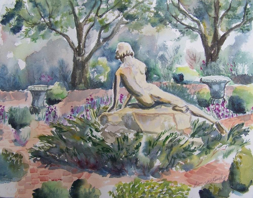 Garden Statue - © Donna Lovely