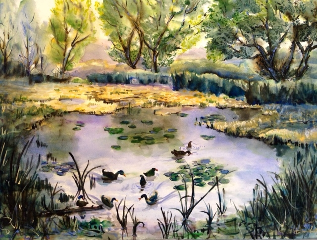 The Duck Pond - © Donna Lovely
