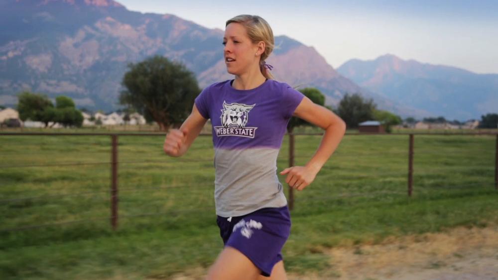 amber henry weber state university runner