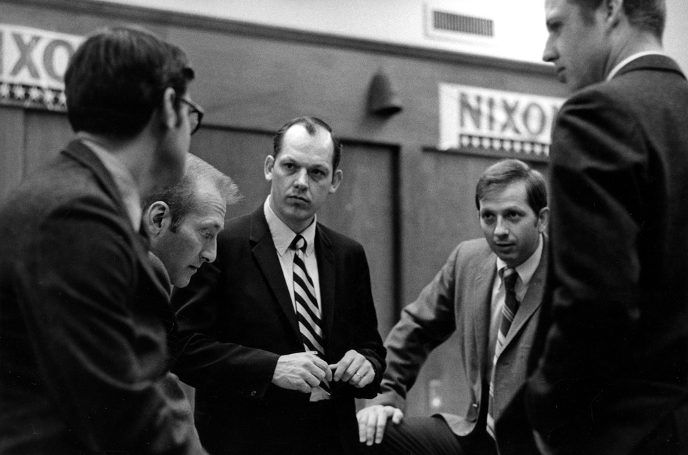 "After beginning a political career in Utah, Richards was hired by the Republican National Committee. He was key player in the Nixon campaigns, organizing a grassroots effort called ""The Neighbor to Neighbor Program.""  However, by January 1971, forces within the Nixon administration had been active for months in covert efforts to stop the leaking of classified information.  Their goal was to protect the president's reputation and keep potentially harmful information from jeopardizing the 1972 campaign.  Part of these operations included minimizing the RNC's role and centralizing control in a new committee called The Committee to Reelect the President, or CREEP, as it was later derisively called.  Richards was invited to join the Committee at its highest level, but he smelled trouble. He refused the job."