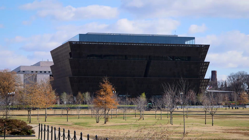 The event was held at the new National Museum of African American History and Culture in Washington, D.C.