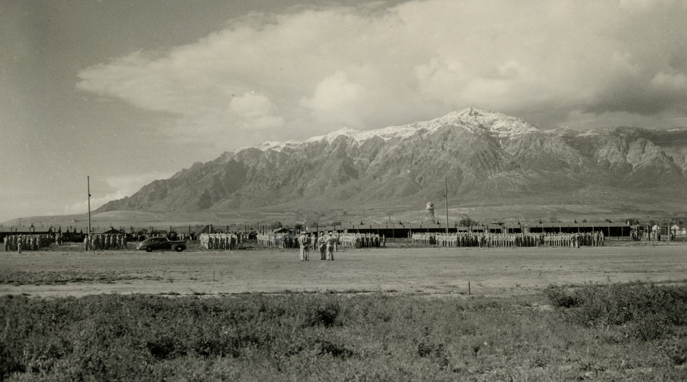 The Prisoner of War Camp at the Ogden Depot. Images courtesy Weber State University Special Collections.