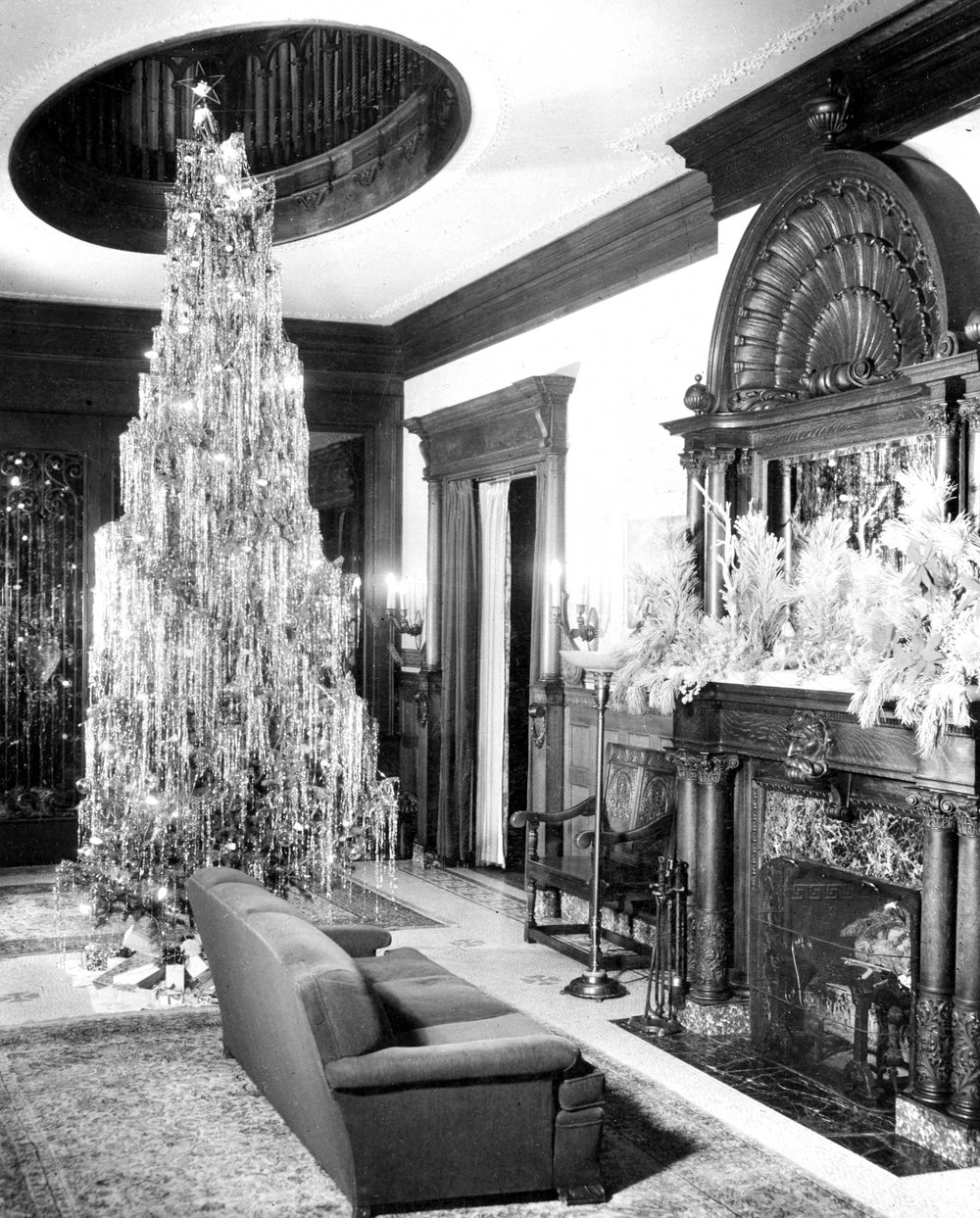 Christmas at the Mansion.