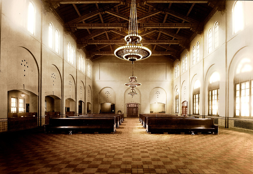 Of all the photos I found while doing research for the documentary, this was my favorite. My friend Josh Roberts colored the original black and white image of the Union Station lobby.