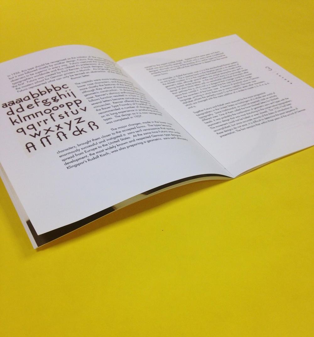 Futura Book — John Alexander Brown