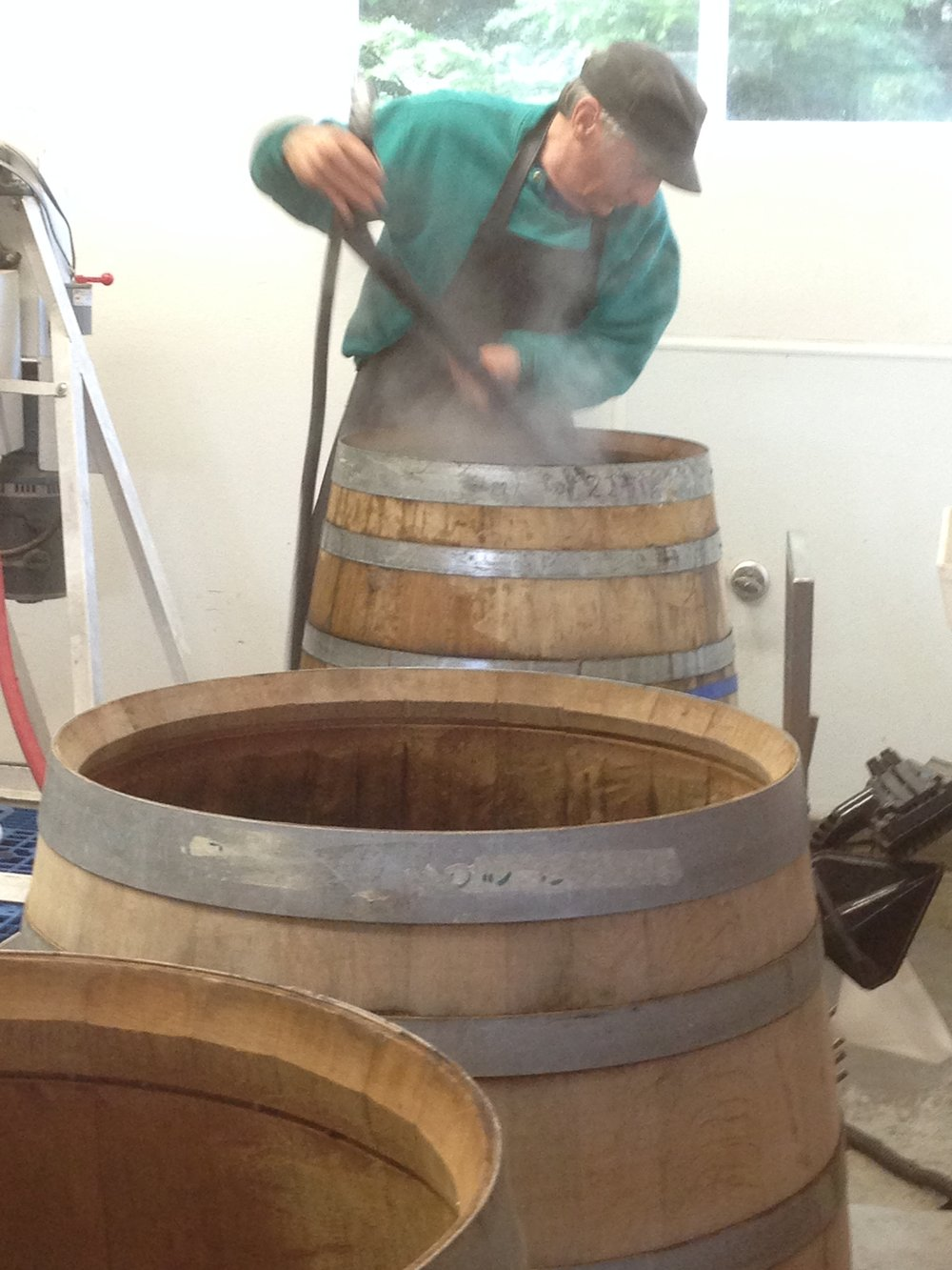 clean the barrels...