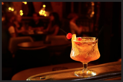 """The """"Two Stories of Cocktail Heaven Inside"""" cocktail"""