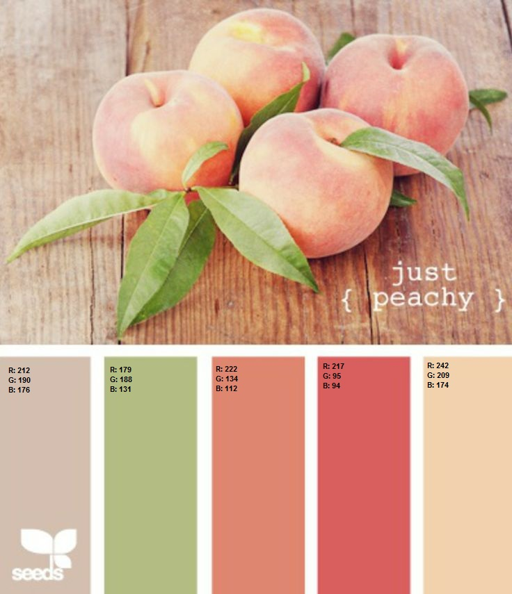 It may be a little early for Peaches, but it's never too early for these beautiful springtime colors. I can almost taste the sweet tea.
