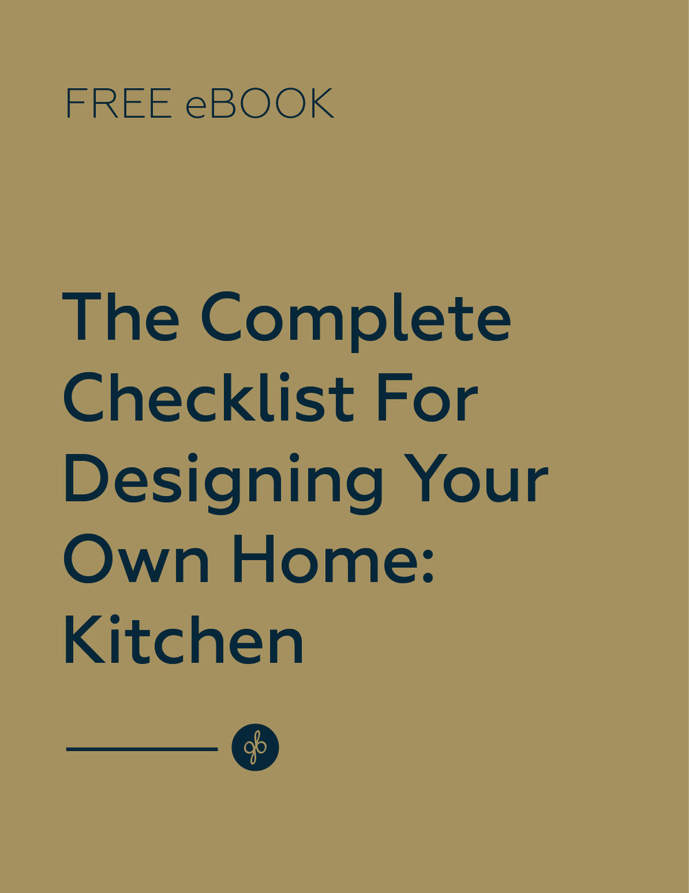 checklist for designing your own kitchen free ebook