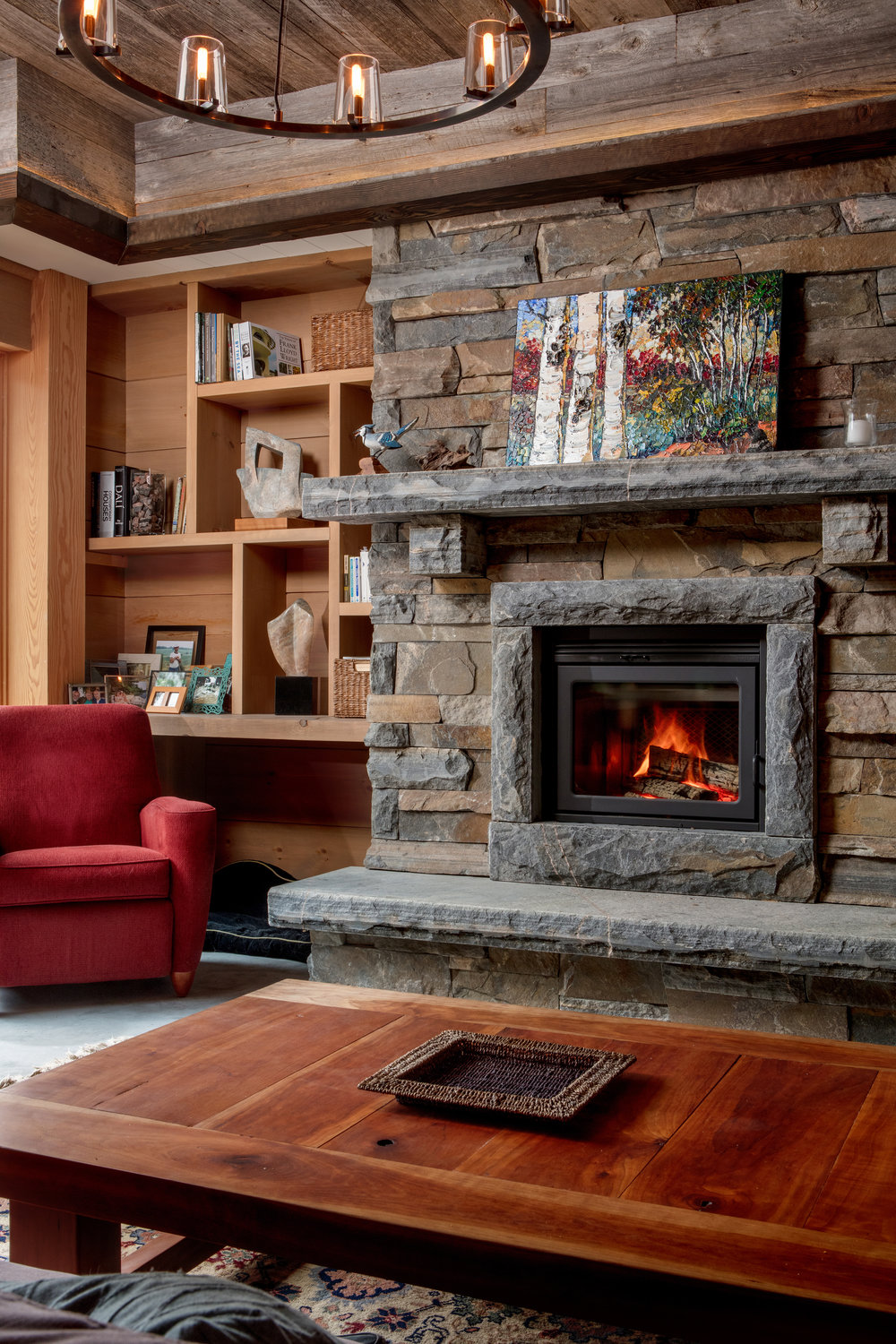 Georgian Bay Fireplace