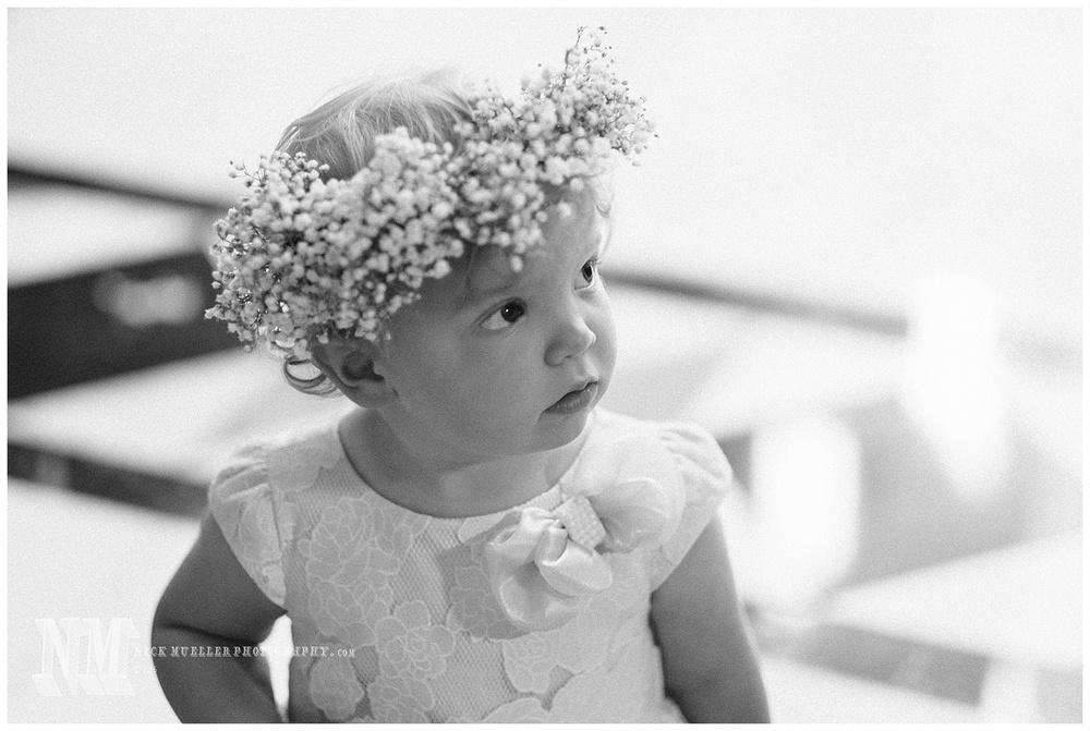 Cherub flowergirl