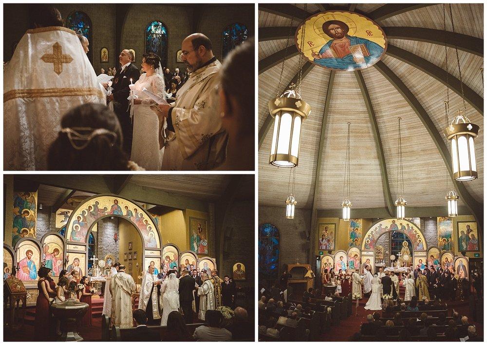 Wedding Ceremony at St. Luke's Orthodox Church