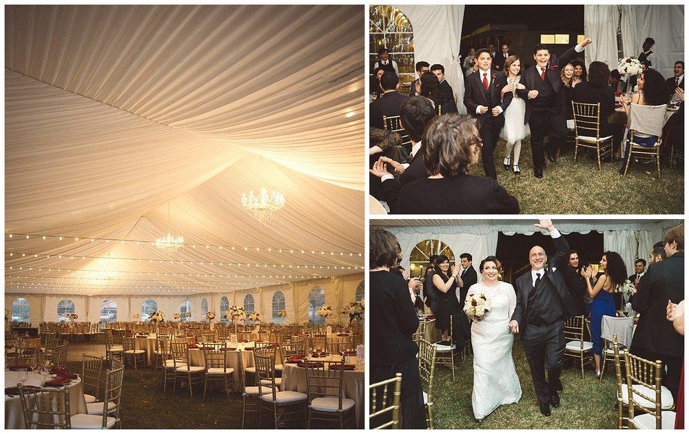 Grand Entrance at Wedding Reception