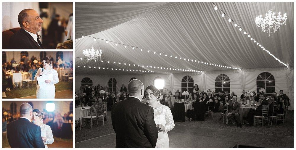 Bride Sings to Groom