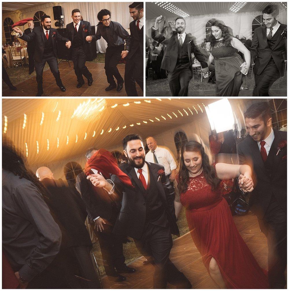 Dabke Dance at Orthodox Christian Wedding