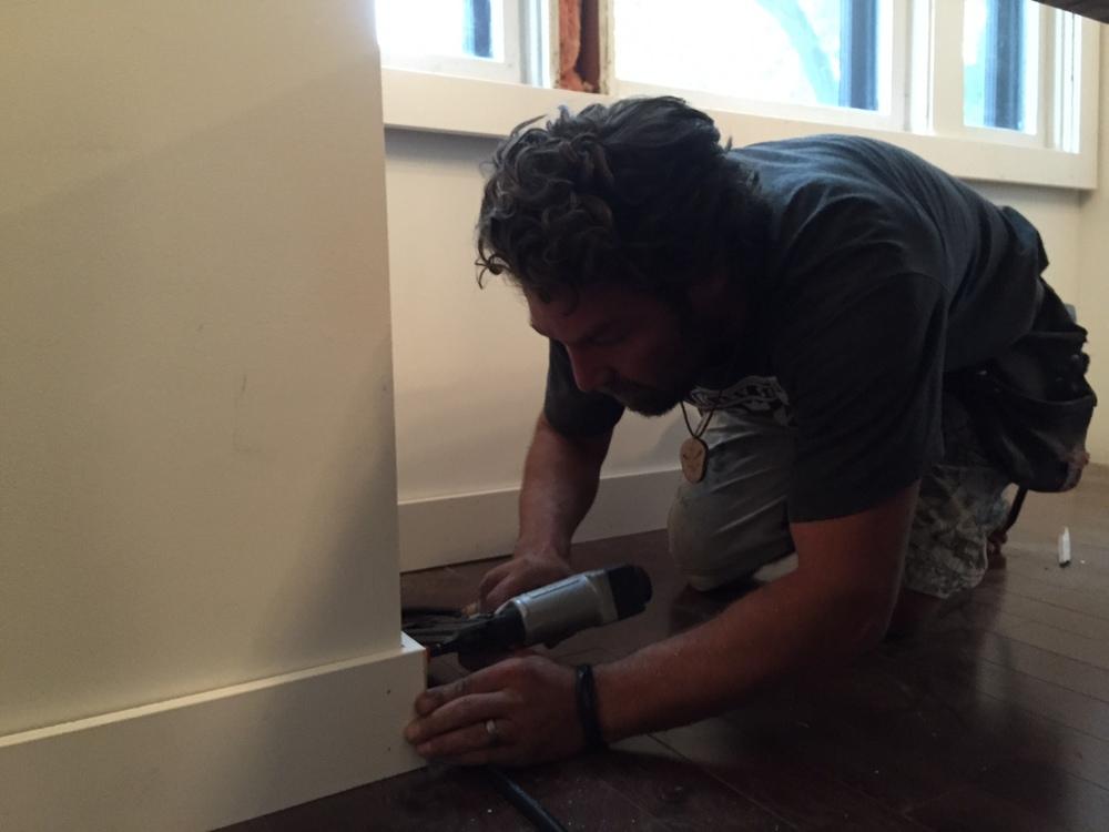 home renovation finishing