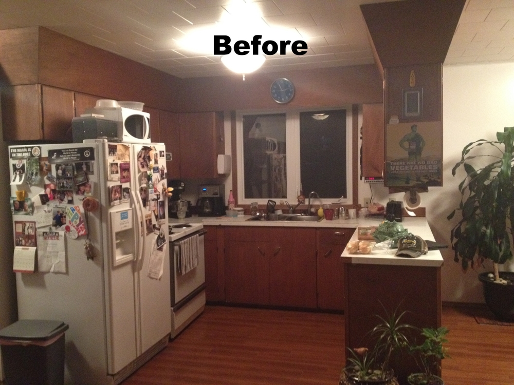 Before pic of Kitchen renovation saskatoon, trusted contractor