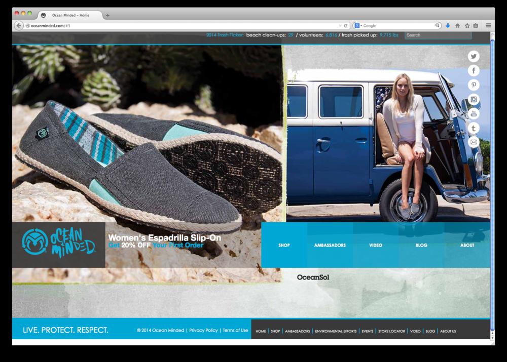 Ocean Minded   Website