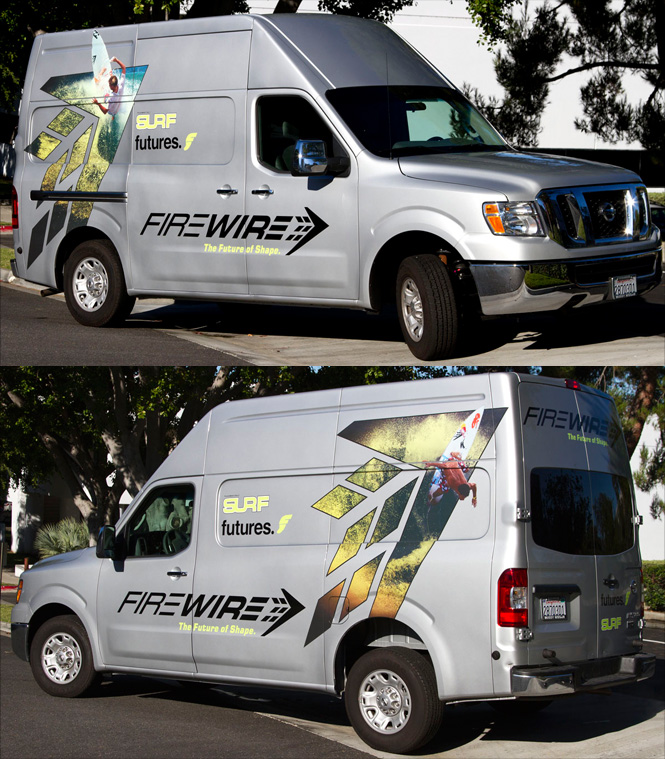 Firewire Surfboards   Vehicle Wrap