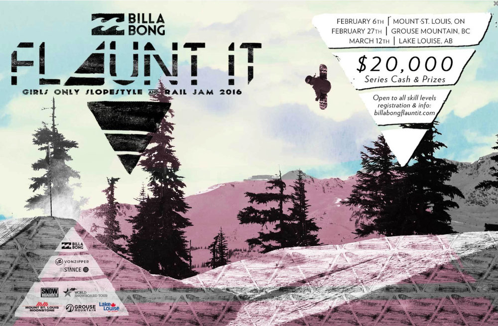 Billabong   Event Poster
