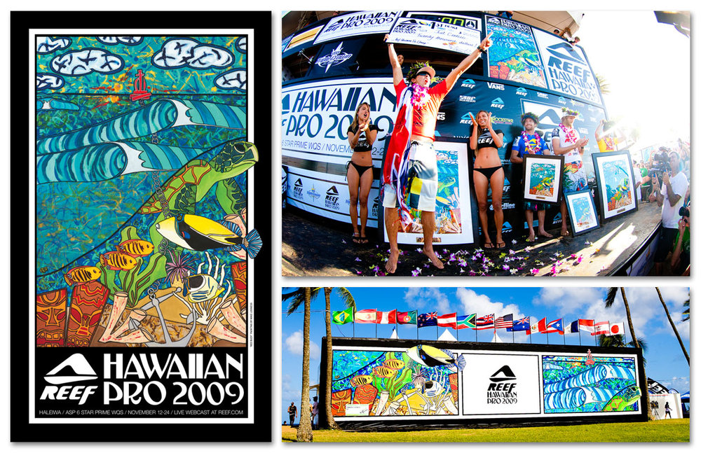 Reef   Hawaiian Pro 2009