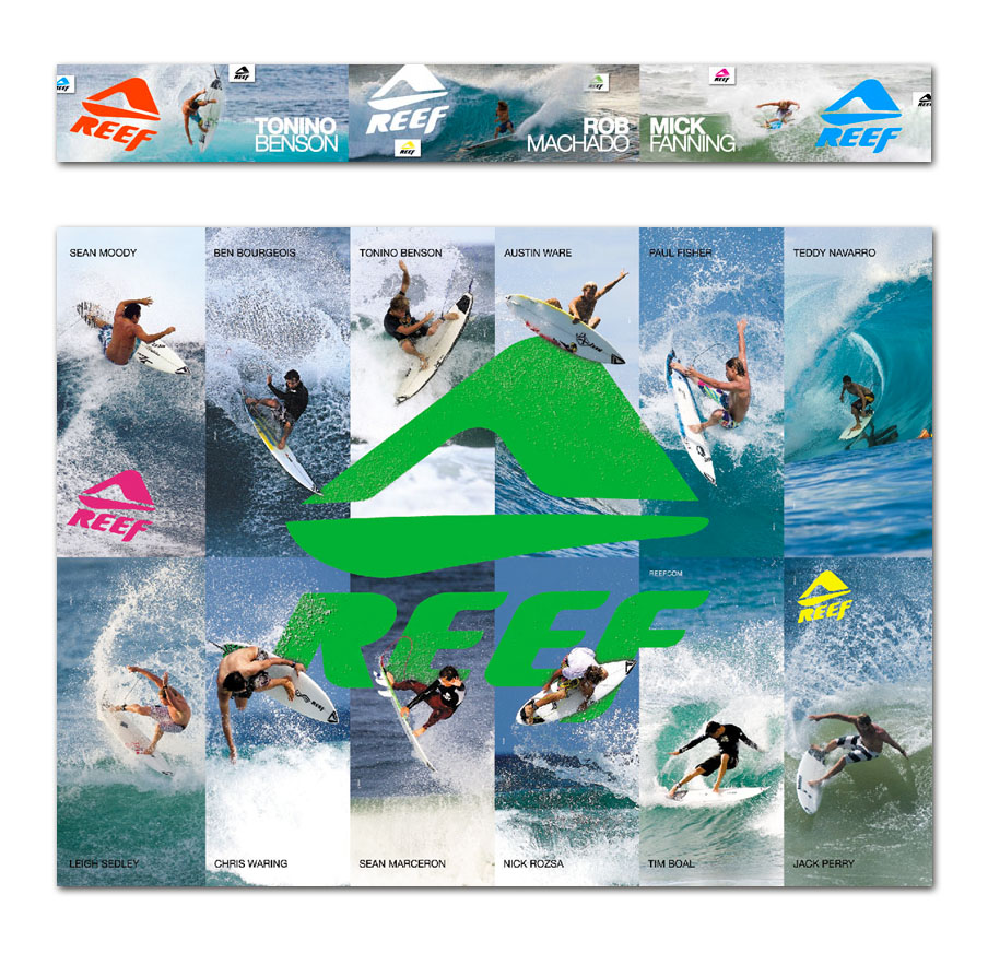 Reef   In-Store & Poster