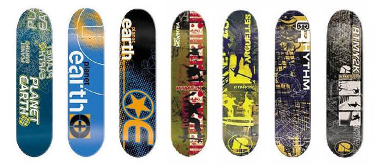 Atlas Distribution   Skateboard Designs