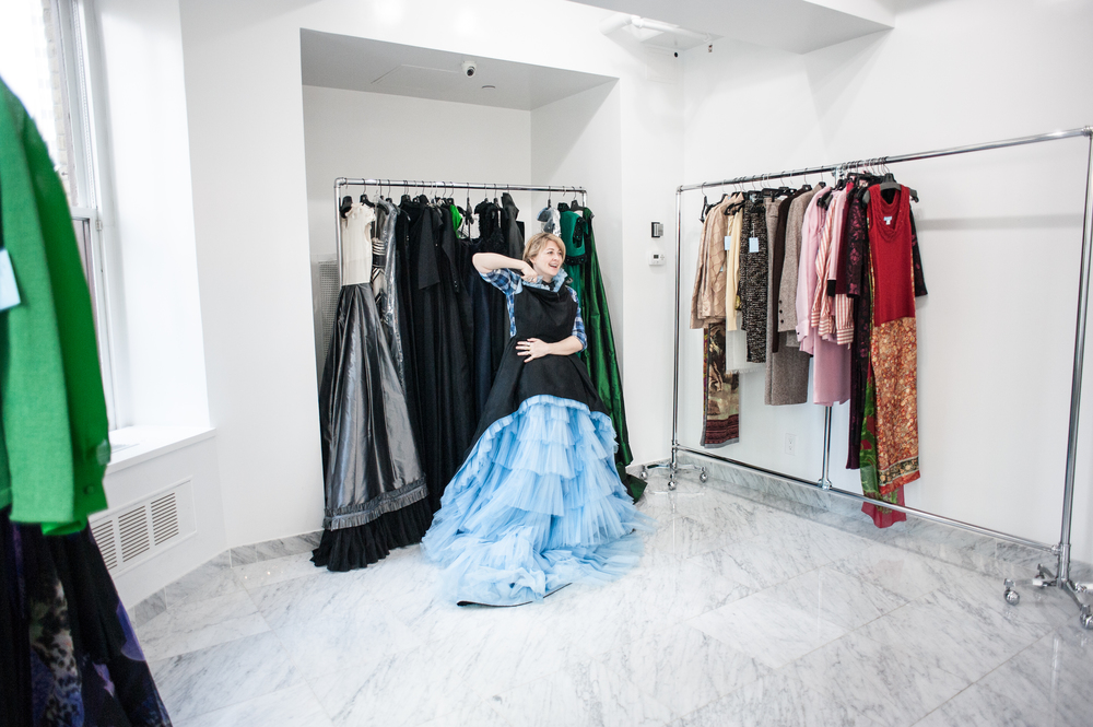 Zang Toi Showroom