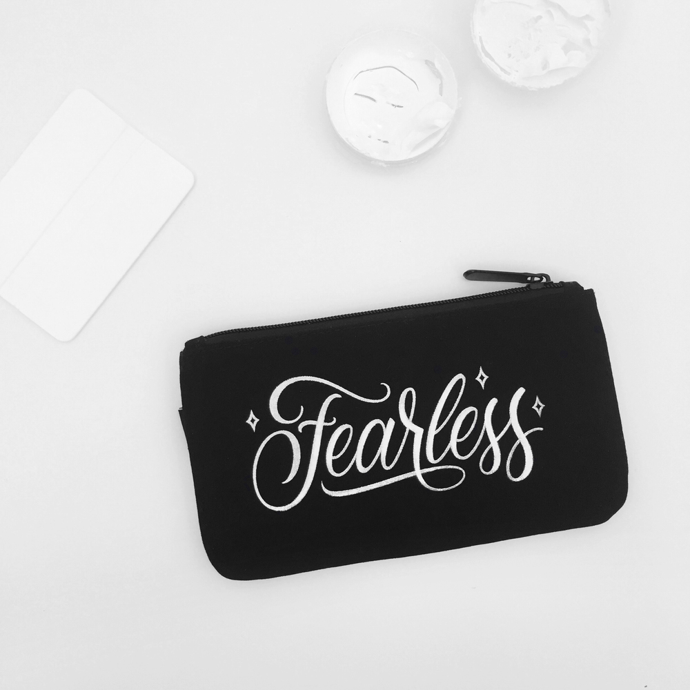 Fearless - Lettering by Wink & Wonder