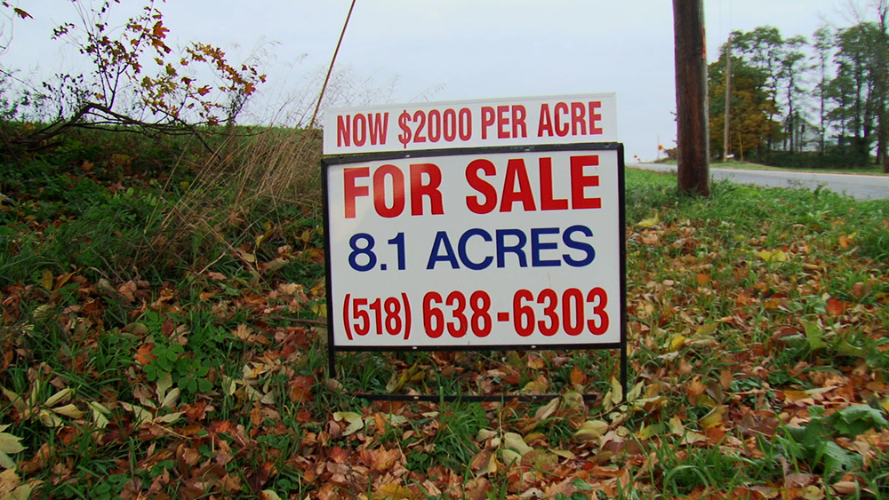 New York State loses a farm every 3 days.