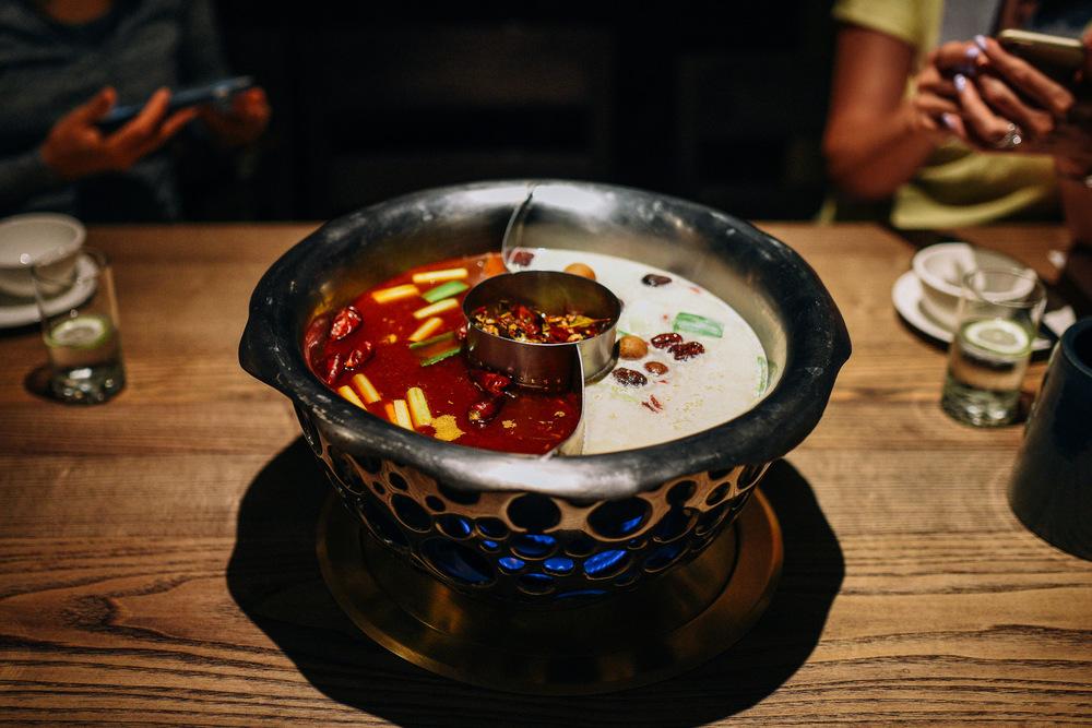 Gimmicky but truly tasty hot pot