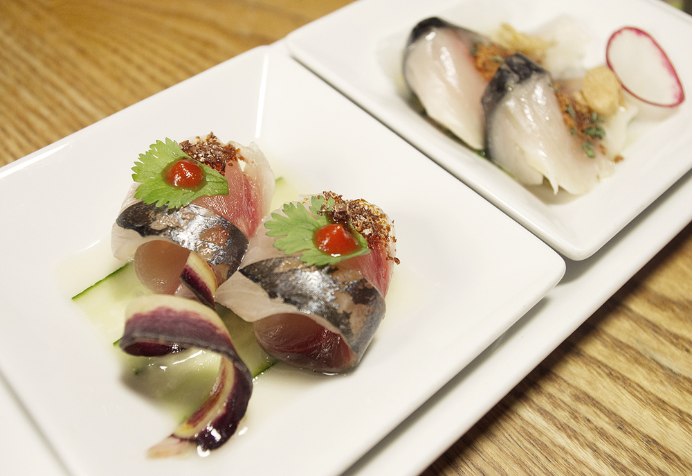 Aji Tiradito, photo by Liz Cho