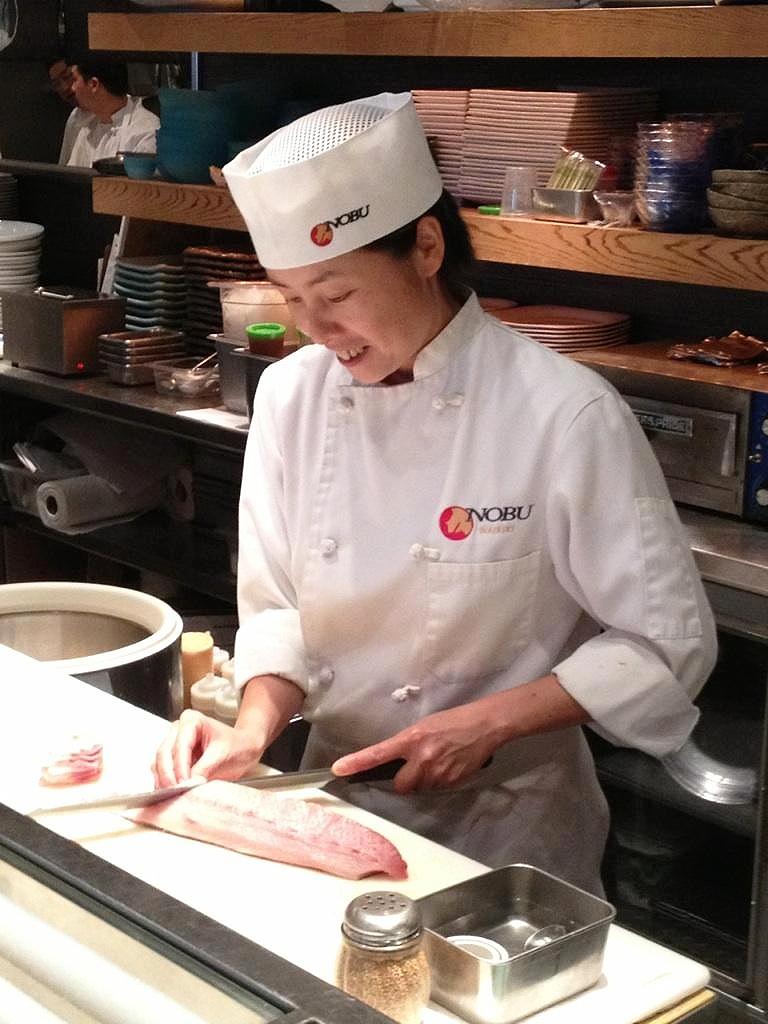 Kaori Igarashi, Sushi Chef at Nobu Waikiki