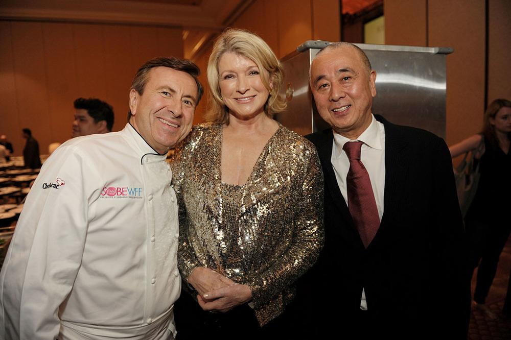 Daniel Boulud, Martha Stewart, Nobu Matsuhisa