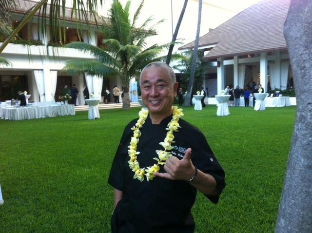 Nobu Matsuhisa at the Hawaii Food & Wine Festival