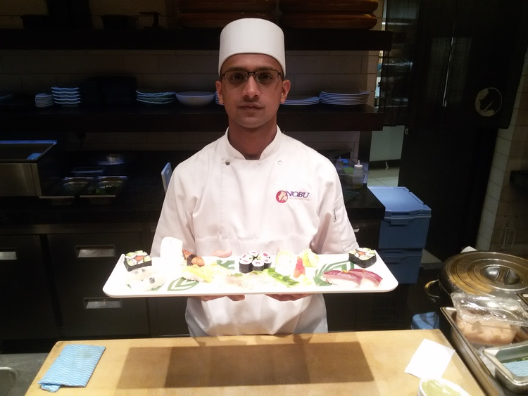 For Flavor For Honor Nobu Chef Heads To World Sushi Cup Nobu Style