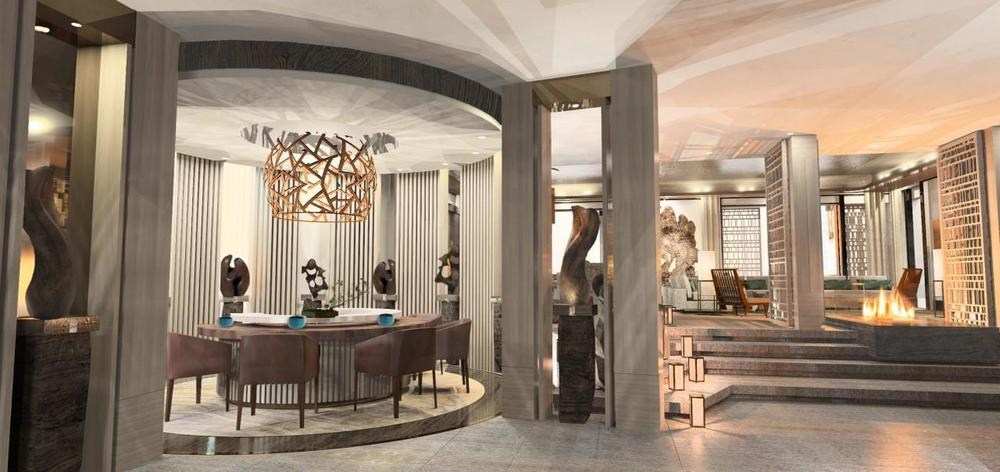 Nobu Villa at the Nobu Hotel Caesars Palace opening this fall