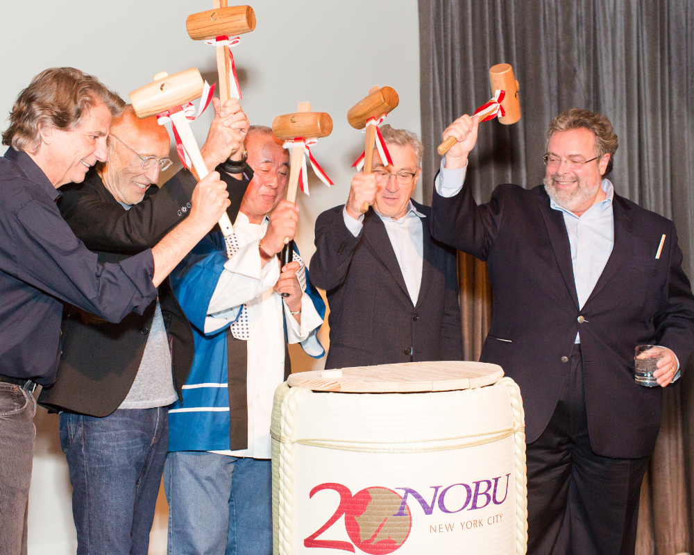 20 Year Anniversary Sake Ceremony for Nobu Restaurants