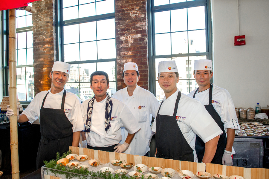 Sushi Chefs on Standby