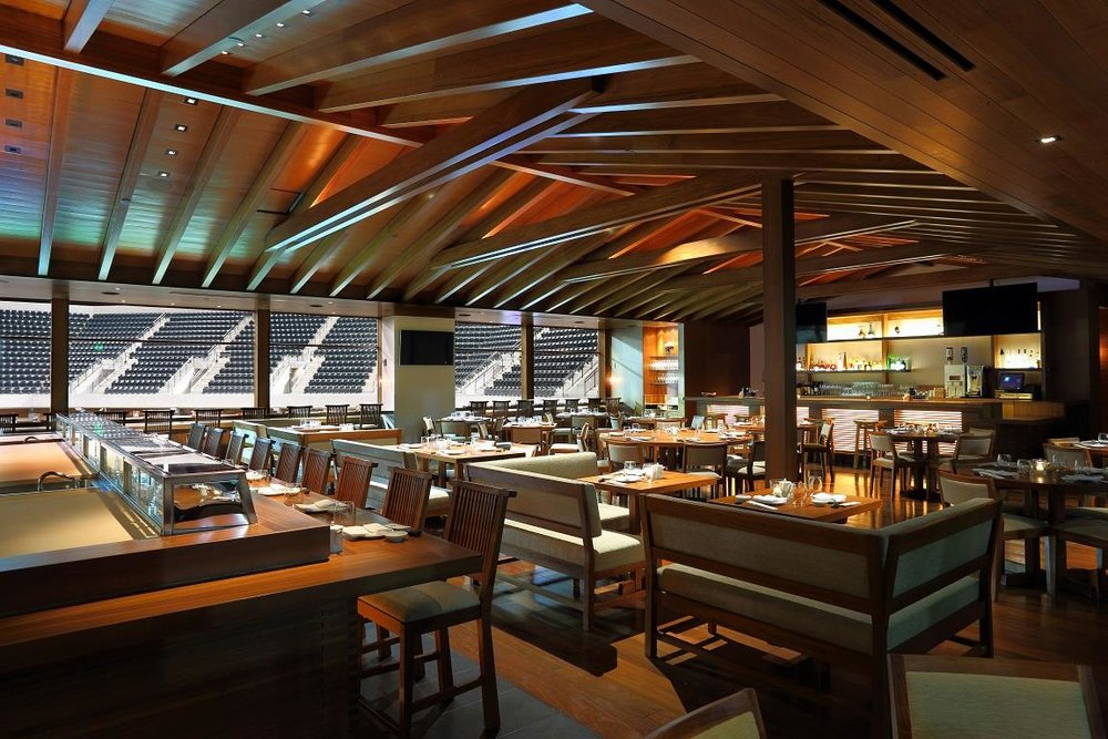 The dining room of Nobu Indian Wells.
