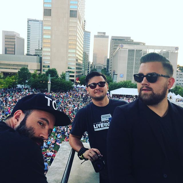 #FlashbackFriday to last night—#LOTG2015 Week 2. The cell towers may be jammed but we'll still get it done.