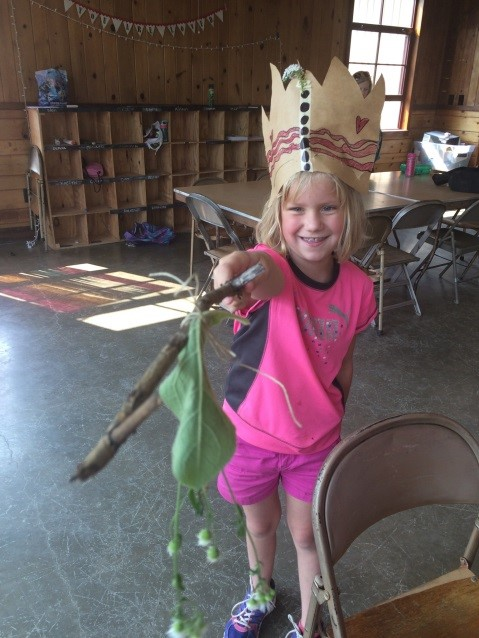 Some campers even added accessories to their royal attire.