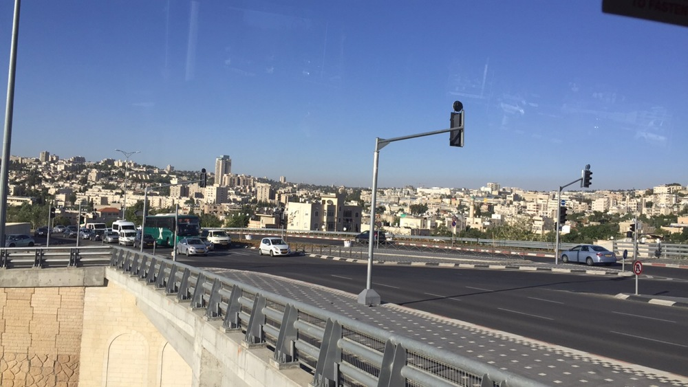 Coming into Jerusalem