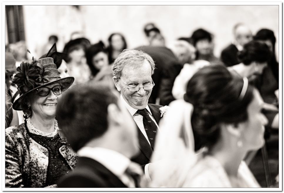 How amazing is this perfectly captured moment as dad gives the groom a telling look of how proud he is.